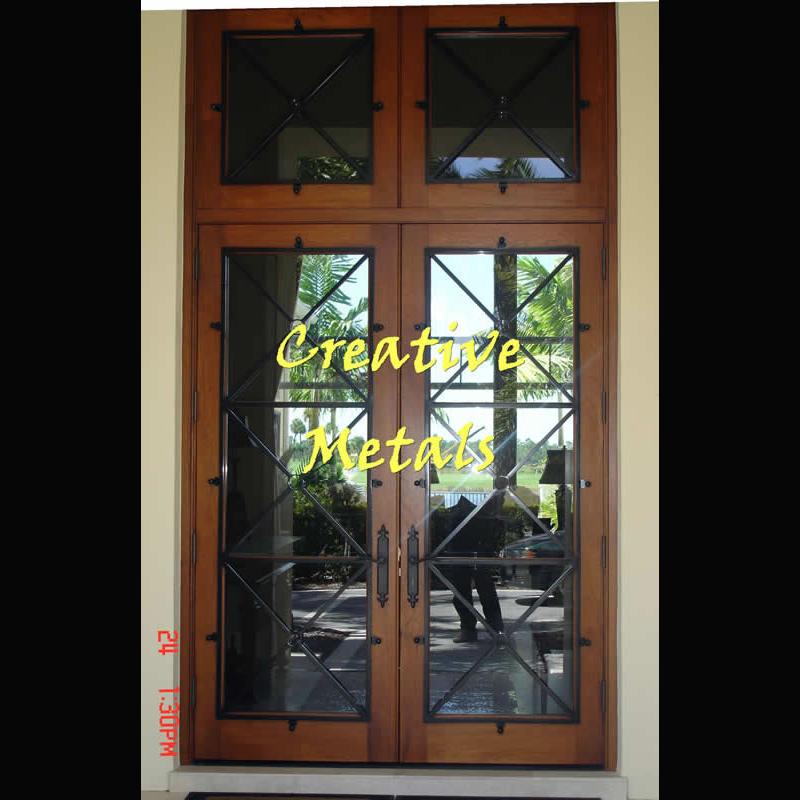 Creative Metal Products Amp Fencing Inc Door Overlays