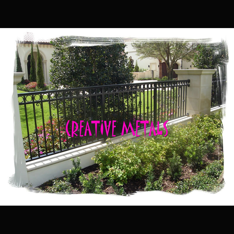 Creative Metal Products Amp Fencing Inc Welded Fence